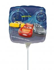 Kleine aluminium vierkante Cars 3™ ballon