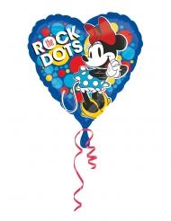 Retro aluminium Minnie™ hart ballon