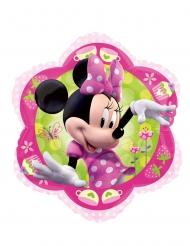 Roze en groene aluminium Minnie™ ballon
