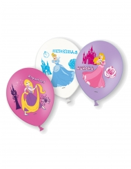 6 latex Disney Princesses™ ballonnen