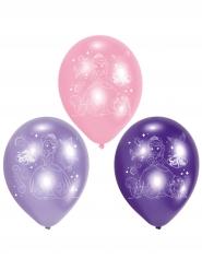 6 latex Sofia het Prinsesje™ ballonnen