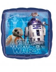 Aluminium Star Wars The Last Jedi™ vierkante ballon