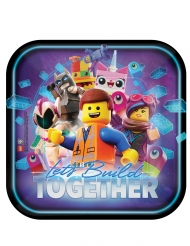8 kartonnen vierkante The Lego Movie 2™ borden