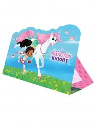 8 Nella Princess Knight™ uitnodigingen