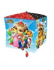 Aluminium Super Mario Bros™ kubus ballon