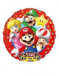Aluminium muzikale Super Mario Bros™ ballon