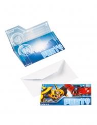 8 Transformers™ uitnodigingen