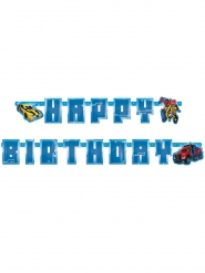 Kartonnen Transformers™ Happy Birthday slinger