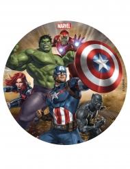 Avengers™ taart decoratie schijf