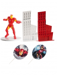 Iron Man™ taartdecoratie set