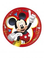 8 kartonnen Mickey Mouse™ feest borden