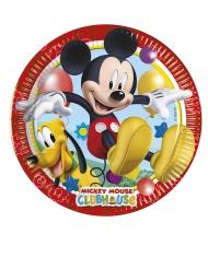 8 kleine kartonnen Mickey Mouse™ borden