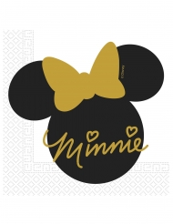 20 papieren Minnie Gold™ servetten