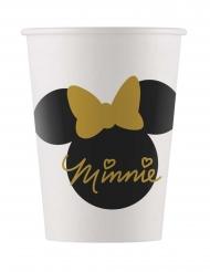 8 kartonnen Minnie Gold™ bekers