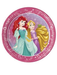 8 kleine kartonnen Princess Day Dream™ borden