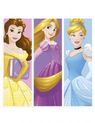 20 cartoon papieren Disney Princesses™ servetten