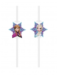 6 kartonnen Frozen™ rietjes