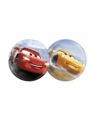 8 kleine kartonnen Cars 3™ bordjes