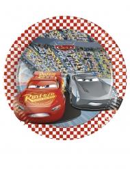 8 kleine kartonnen Cars 3™ borden