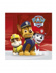 20 papieren Paw Patrol™ Ready for Action servetten