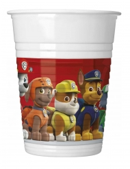 8 plastic Paw Patrol Ready for action™ bekers