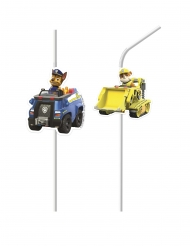 4 plastic Paw Patrol Ready for Action™ rietjes