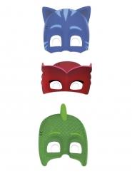 6 kartonnen PJ Masks™ maskers