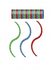 3 rode blauwe en groene PJ Masks™ serpentine rollen