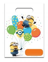 6 Minions™ balloon party feestzakjes