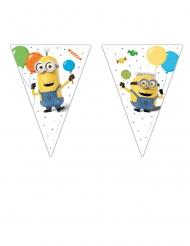 Minions vlaggenslinger met 9 vlaggetjes