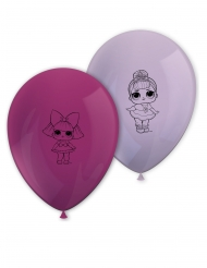 8 latex LOL Surprise™ ballonnen