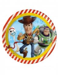 8 kartonnen Toy Story 4™ borden