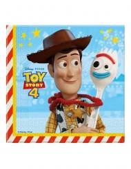 20 papieren Toy Story 4™ servetten