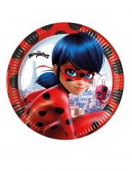 8 kartonnen Miraculous Ladybug™ borden
