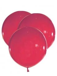 5 enorme rode latex ballonnen
