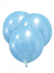5 enorme blauwe latex ballonnen