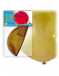 Enorme goudkleurige latex ballon
