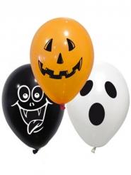 10 latex spooky Halloween ballonnen