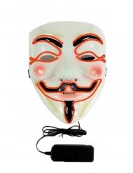 Anonymous led masker voor volwassenen