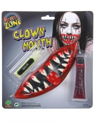 Enge clown mond schmink set
