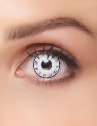 Klok fantasie contactlenzen voor volwassenen