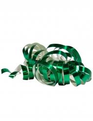 2 groene metallic serpentine rollen