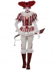 Psychopaat clown kostuum voor vrouwen