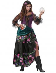 Bloemen waarzegster kostuum voor vrouwen