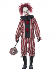 Demonische clown kostuum voor volwassenen