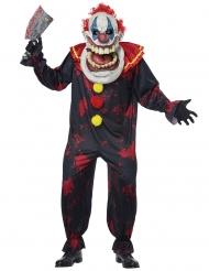 Enorme clown outfit voor volwassenen