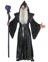 Duistere tovenaar kostuum voor volwassenen