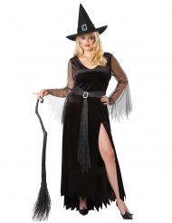 Chique heks outfit voor vrouwen - Grote Maten