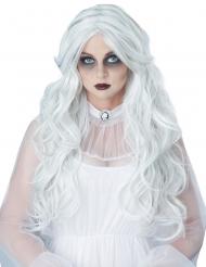 Lange witte dame pruik voor vrouwen