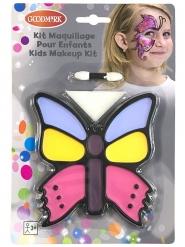 Kleurrijke vlinder schminkset voor kinderen
